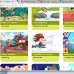 Un sitio con diferentes juegos para aprender ingles