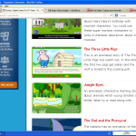 unas historias en ingles para niños