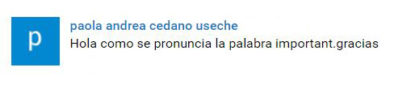 paola - important pronunciation 2