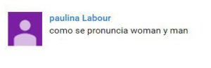 paulina - woman, man pronunciation 2