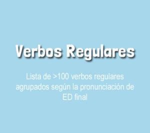 Cómo Aprender Los Verbos Regulares En Inglés Video Pdf Dilo